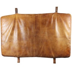 1930s Leather Gym Mat