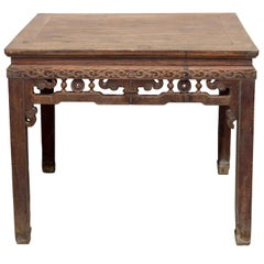 Early 20th Century Square Chinese Table