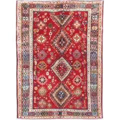Vintage Persian Qashqai Carpet