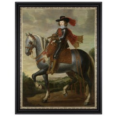 Ferdinand of Austria, after Baroque Oil Painting by Gaspar de Crayer