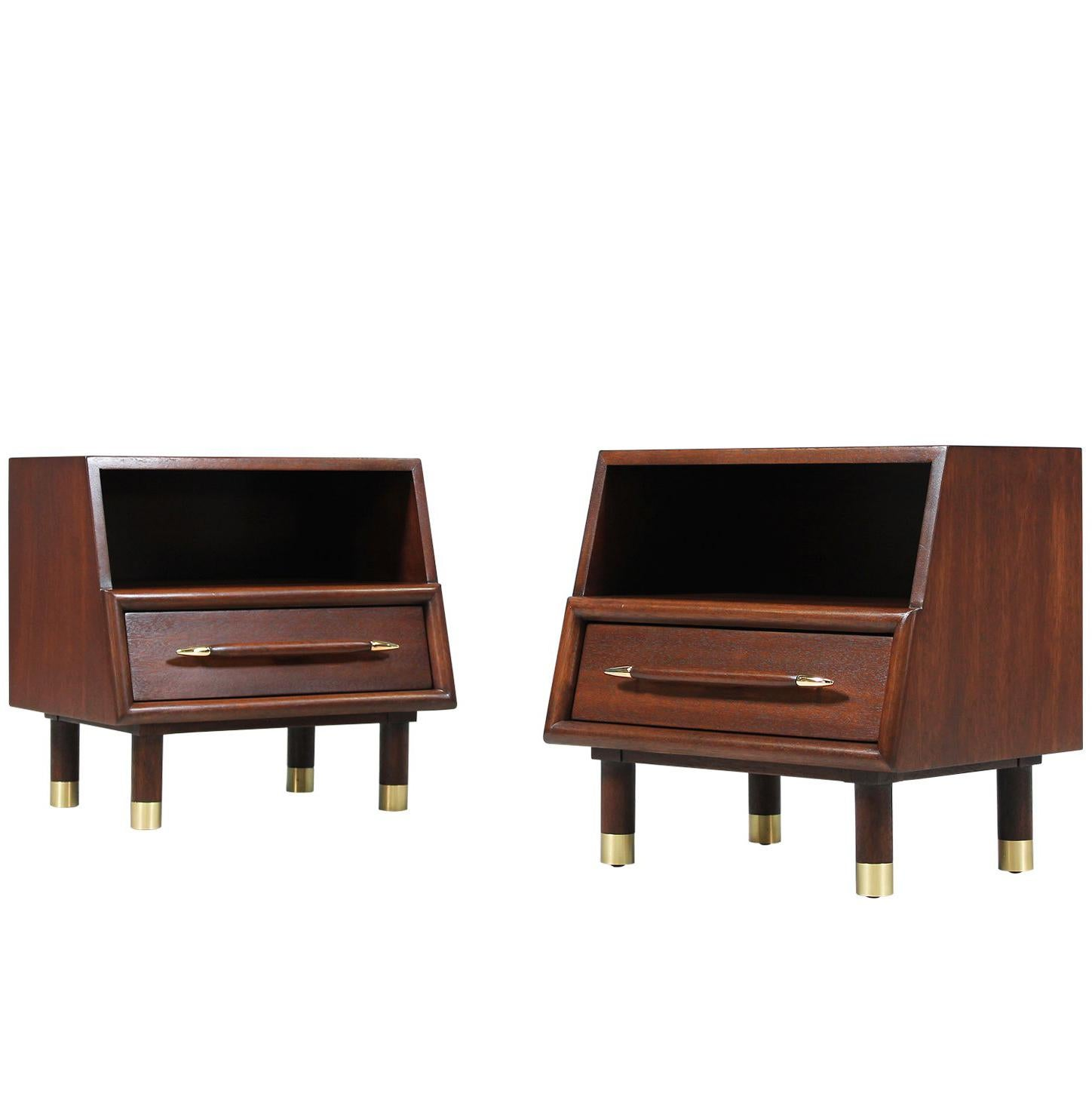 Superieur John Keal Nightstands For Brown Saltman