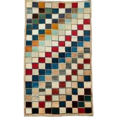 Vintage Persian Deco Rug