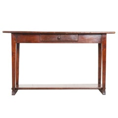 19th Century English Country Oak Server