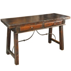 18th Century Catalan Writing Table, Console