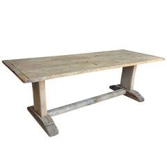 Catalan Farm Table, Trestle Table