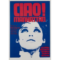 'Ciao! Manhattan' British Film Poster, 1973