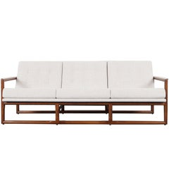 "Midcentury ""Cube"" Sofa by Milo Baughman"