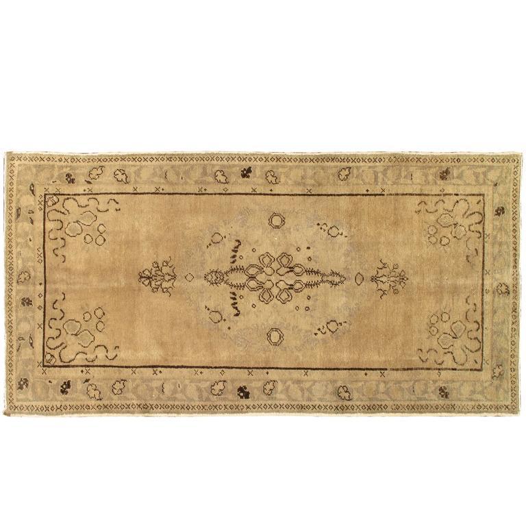 Nice looking vinatge khotan rug for sale at 1stdibs for Nice rugs for sale