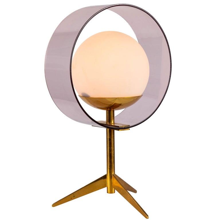 1950s Stilux Milano 'Saturno' Table Lamp For Sale