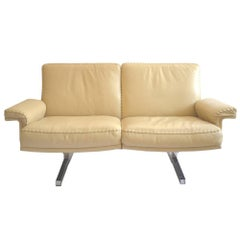 Vintage De Sede DS 35 Two-Seat Sofa or Loveseat, 1970s