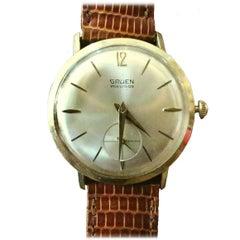 Gruen Precision 14-Karat Solid Gold Watch