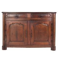 Vintage Oak Buffet, circa Late 17th Century
