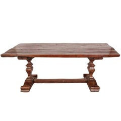 Walnut Trestle Table