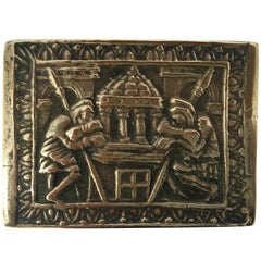 French Bronze Art Deco Jewelry Box by Max Le Verrier