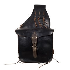 Embossed Leather Saddlebag, circa 1970-1990