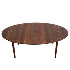 Finn Juhl Rosewood Judas Table for Niels Vodder, 1948