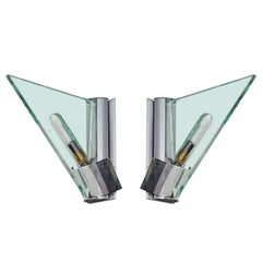 Pair of Italian Modern Sconces by Carlo Forcolini for Artemide