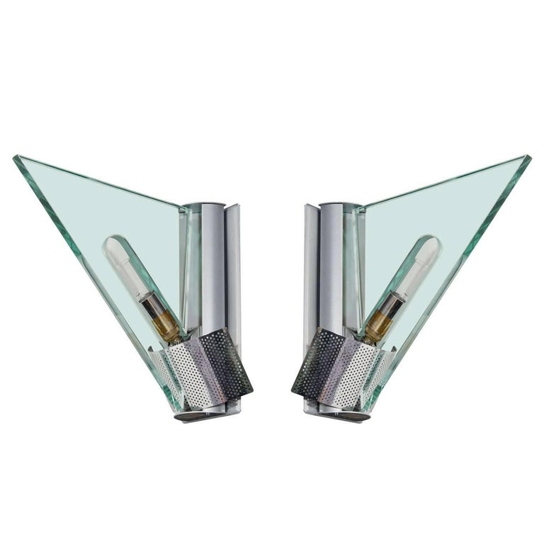 Pair of Italian Modern Sconces by Carlo Forcolini for Artemide For Sale