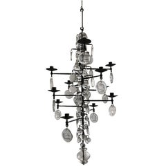 Mid-Century Modern Twelve-Arm Chandelier by Erik Höglund