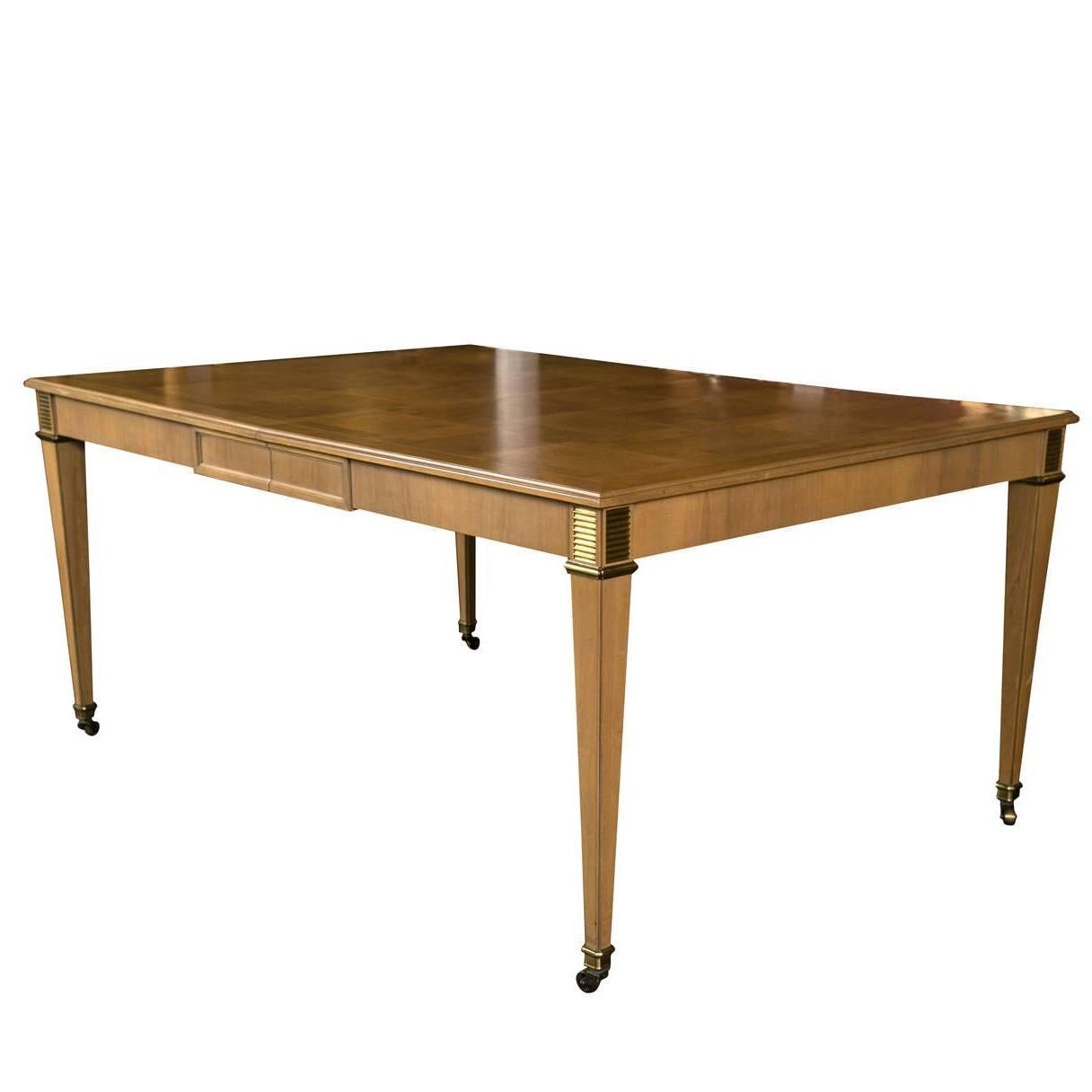 Baker Furniture Dining Table For Sale At