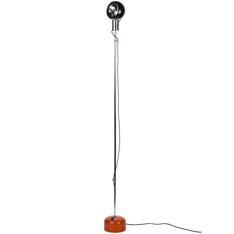 Metal and Chrome Floor Lamp by Arredoluce