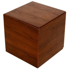 Teak Nesting Tables Poul Nørreklit for GP Farum Magic Puzzle Cube