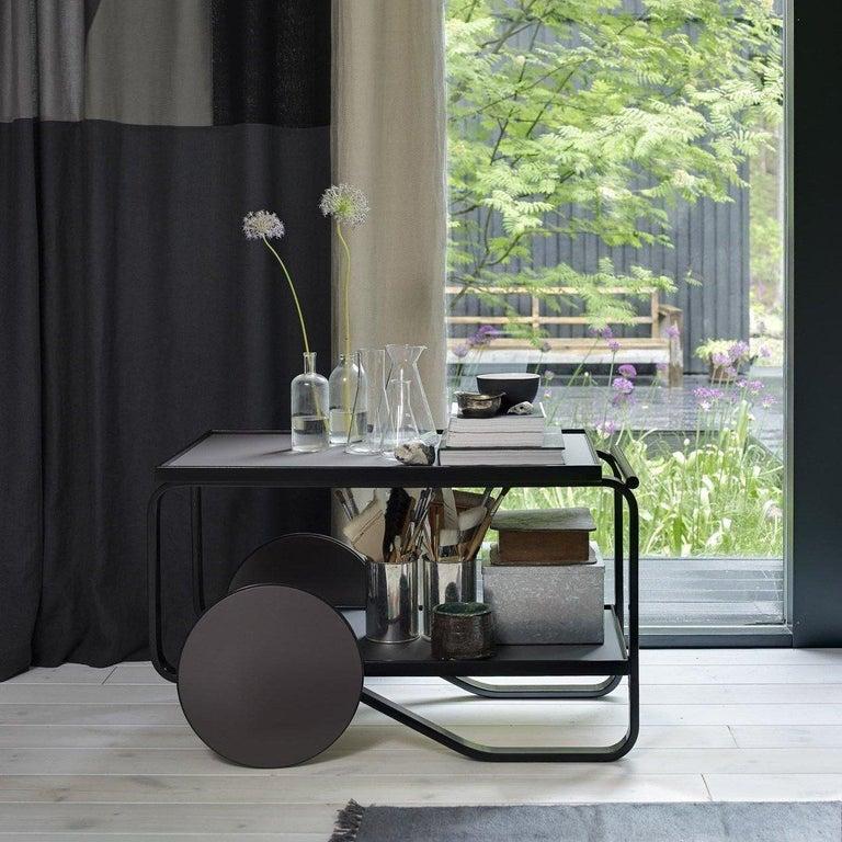 Authentic Tea Trolley 901 in Birch by Alvar Aalto & Artek For Sale 3