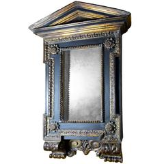 Mannerist Italian Wood Tabernacle Mirror from the Collection of David Abbato