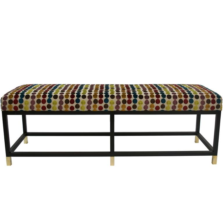 Blackened Steel \Custom Iron Platform Bench