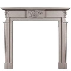 Late Georgian Fireplace Mantel in Portland Stone
