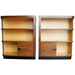 Pair of Art Deco Bookcases by Gilbert Rohde for Herman Miller