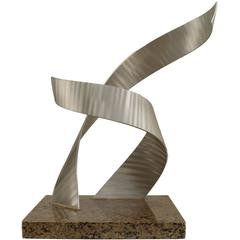 Contemporary American Abstract Aluminum Sculpture