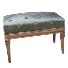 French Neoclassical Style Bench