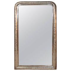 Louis Philippe Silvered Mirror