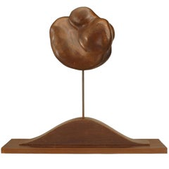 20th Century American Freeform Wooden Sculpture