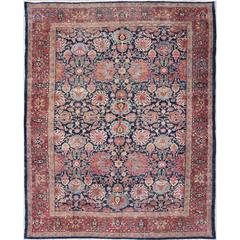 Antique Fine Persian Malayer Rug