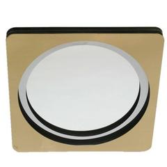 Curtis Jere Mirror in Brass and Chrome