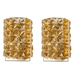 Pair of Austrian Crystal Sconces