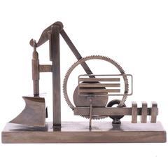 Arlie Regier Bronze Sculpture, 1981
