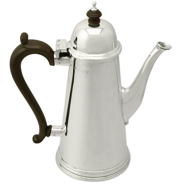Sterling Silver Coffee Pot For