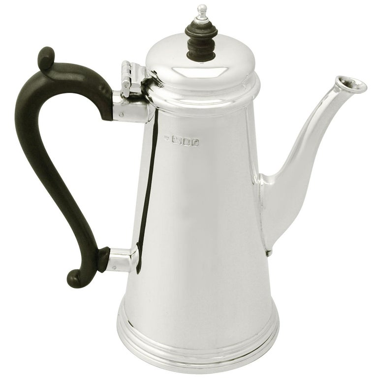 1961 Sterling Silver Coffee Pot