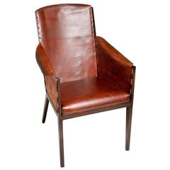 French Design Leather Chair