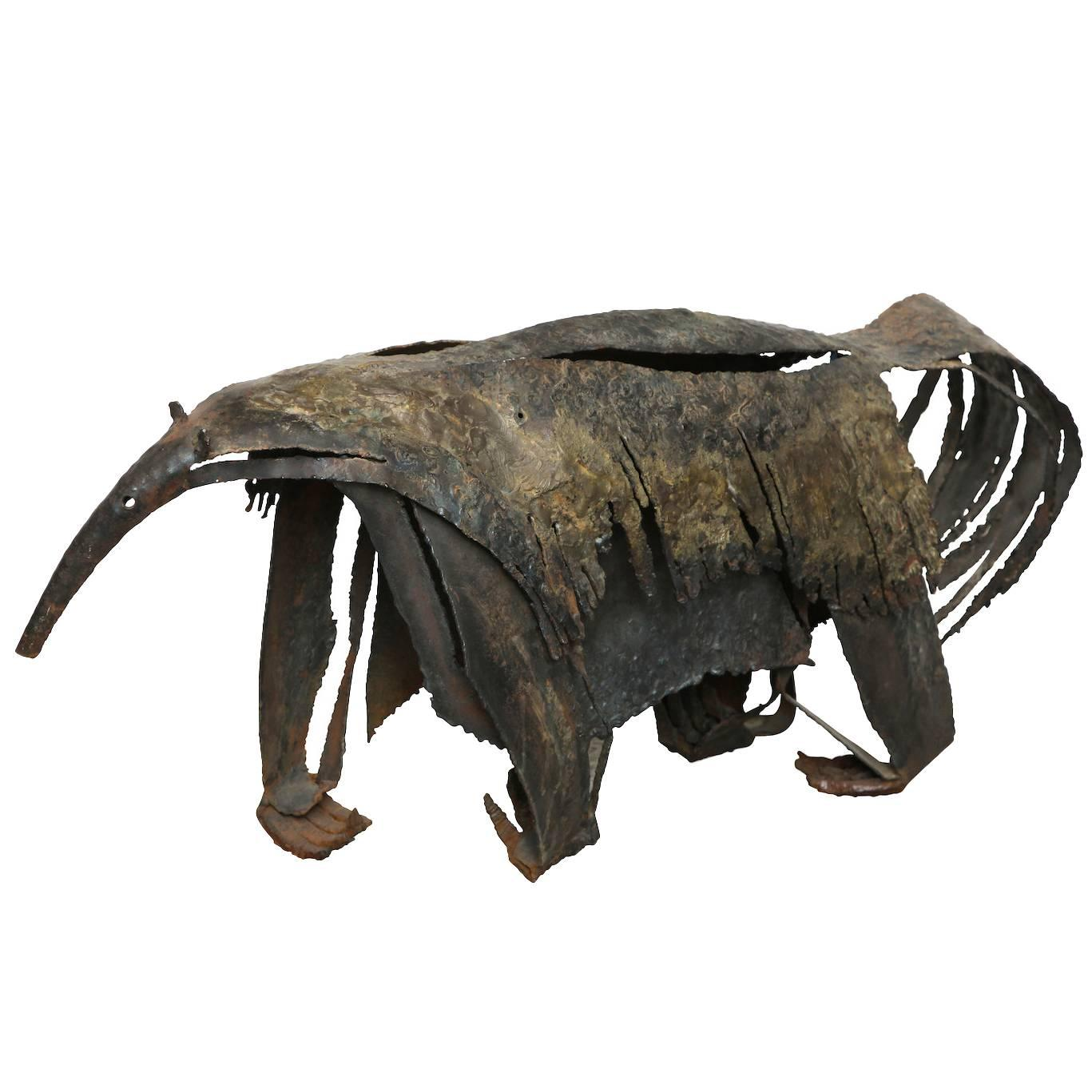 """The Anteater,"" Brutalist Sculpture"