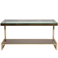"Belgian Golden ""G"" Console Table"