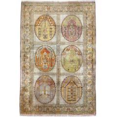 Vintage Turkish Sivas Rug