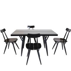 Pirkka Table and Chairs by Ilmari Taplovaara
