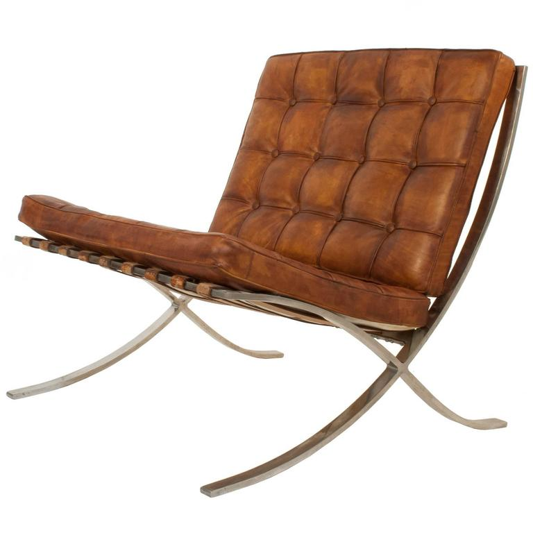 Barcelona chair by ludwig mies van der rohe at 1stdibs - Chaise mies van der rohe ...