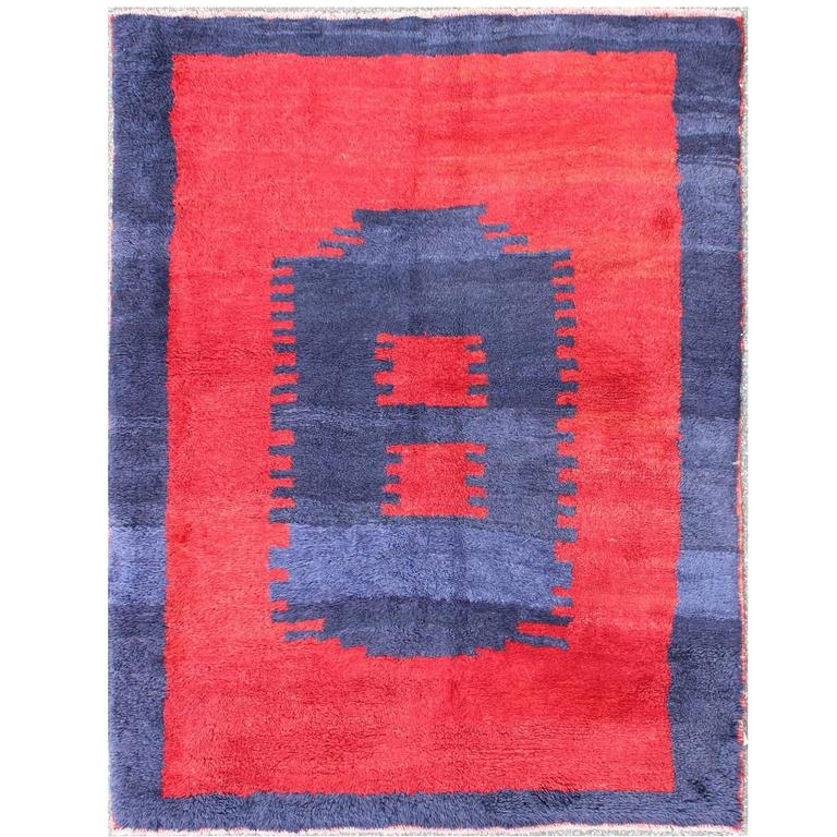 Unique Turkish Tulu Rug