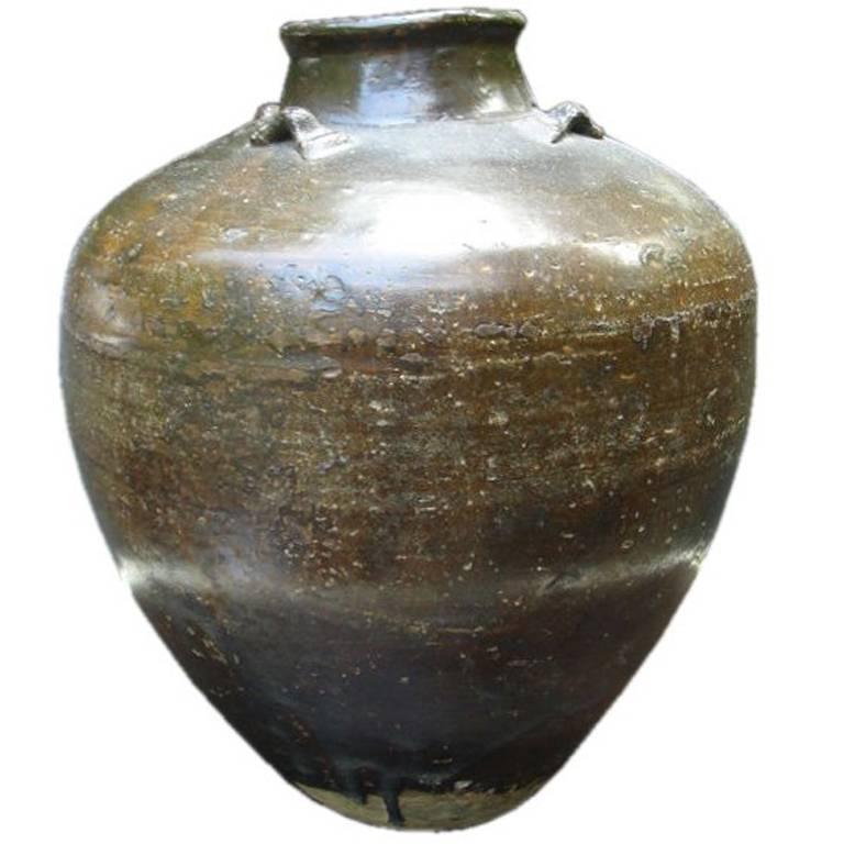 Drip-Glaze Vase 1