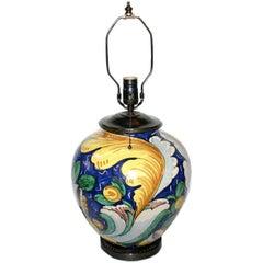 Italian Ceramic Table Lamp